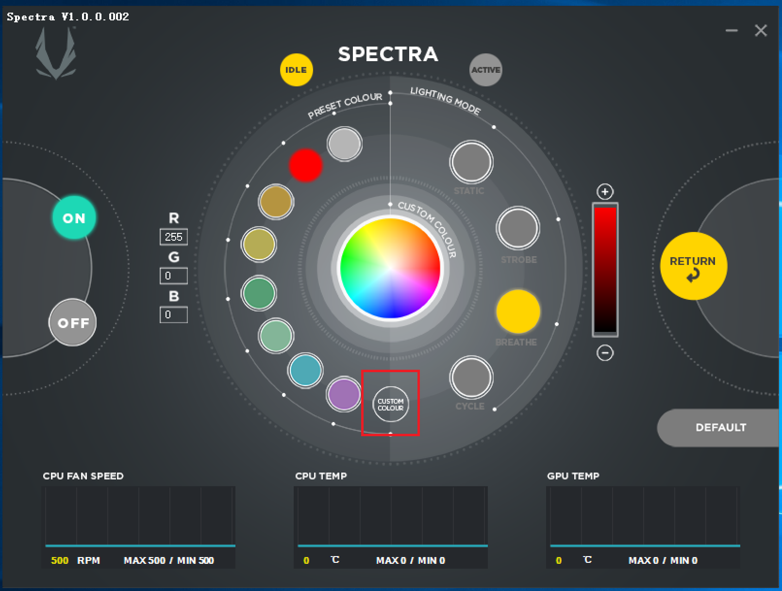 How to use the ZOTAC GAMING SPECTRA Utility | ZOTAC