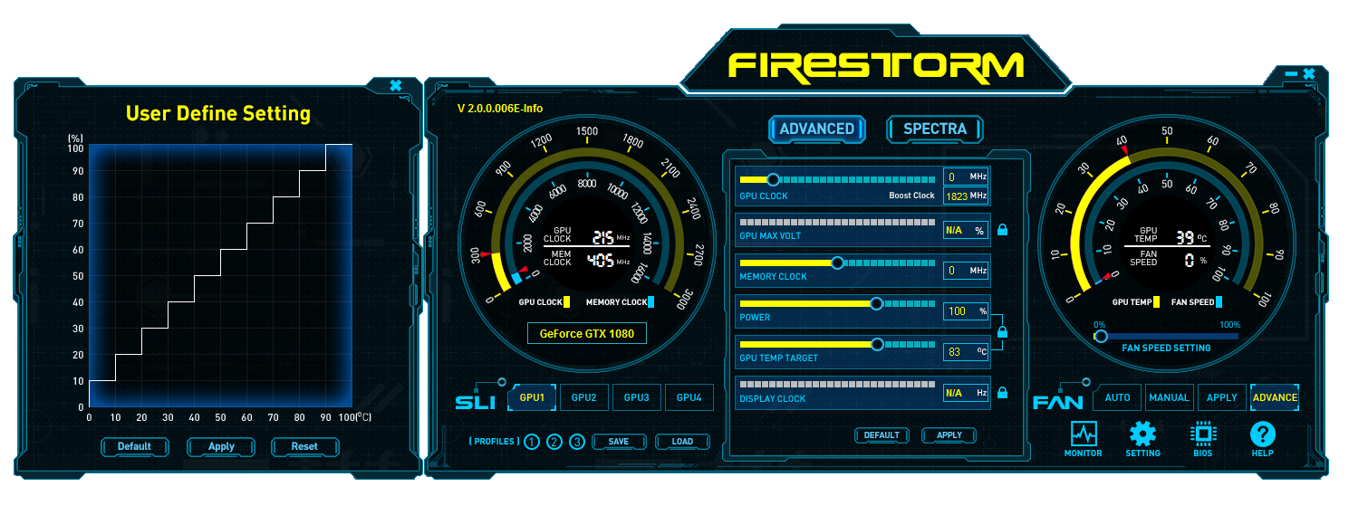 New and improved FireStorm Utility | ZOTAC