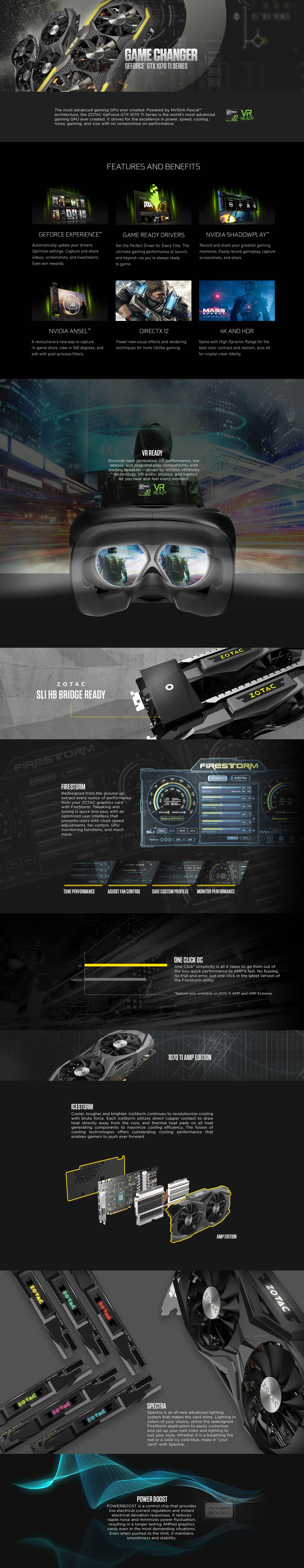 Zotac Geforce Gtx 1070 Ti Amp Edition Asus 8gb Ddr5 Strix Advanced News Blog