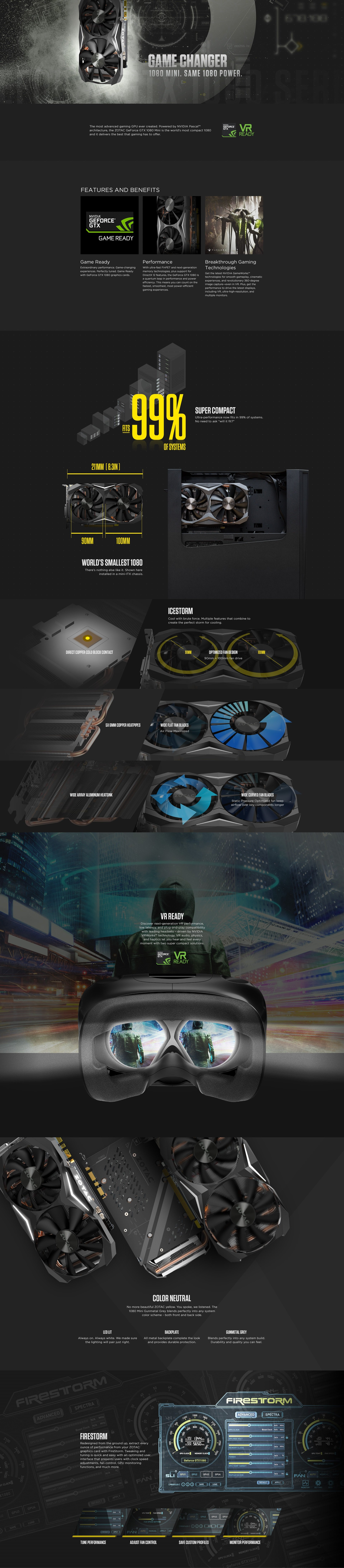 ZOTAC GeForce® GTX 1080 Mini | ZOTAC