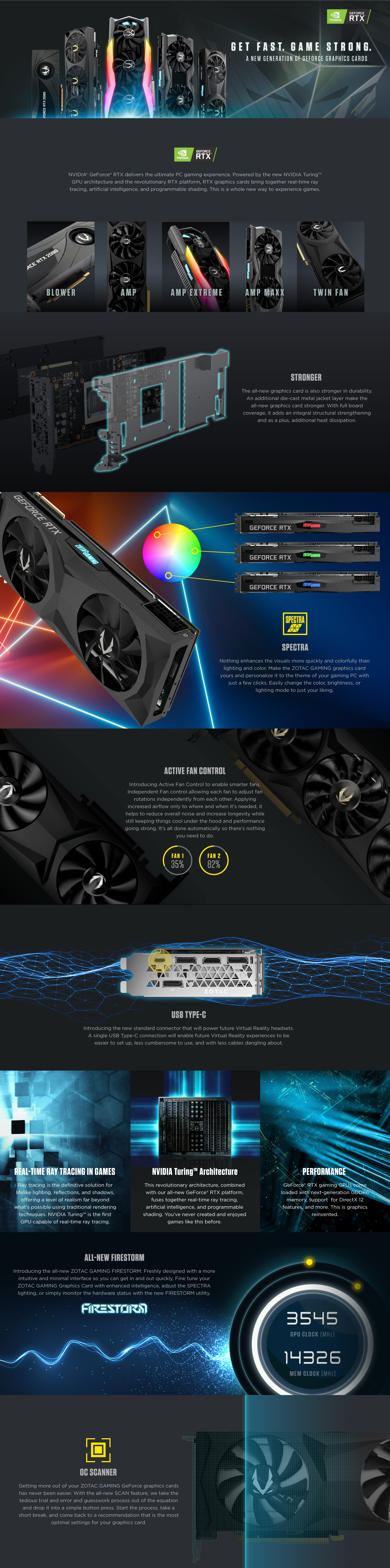 Zotac Gaming Geforce Rtx 2080 Ti Twin Fan Zotac