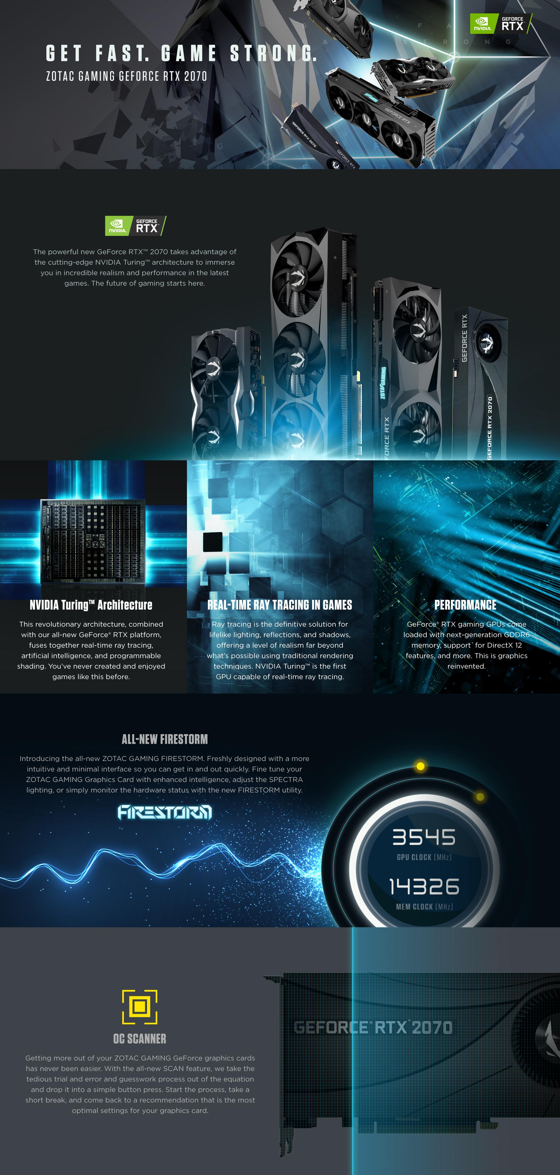 ZOTAC GAMING GeForce RTX 2070 Blower | ZOTAC