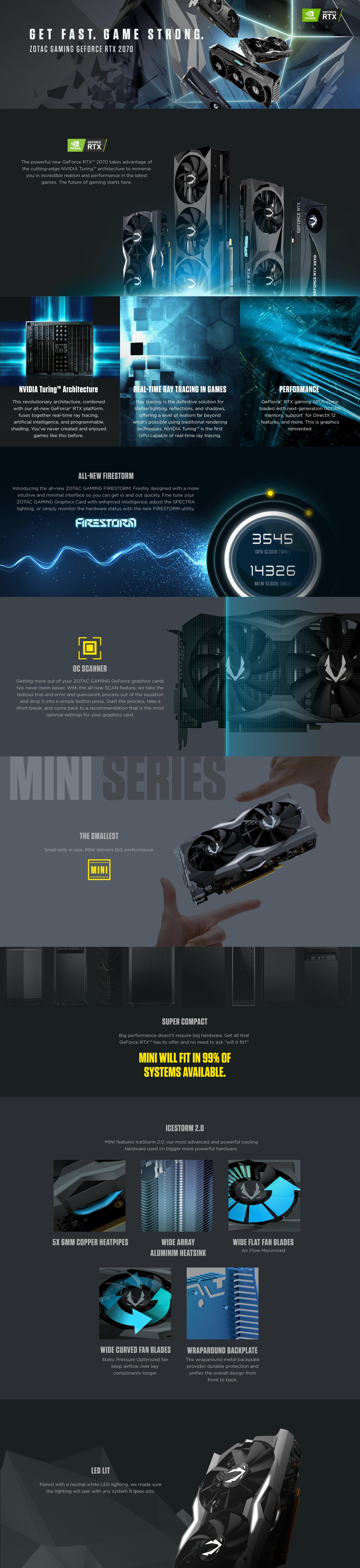 ZOTAC GAMING GeForce RTX 2070 MINI | ZOTAC