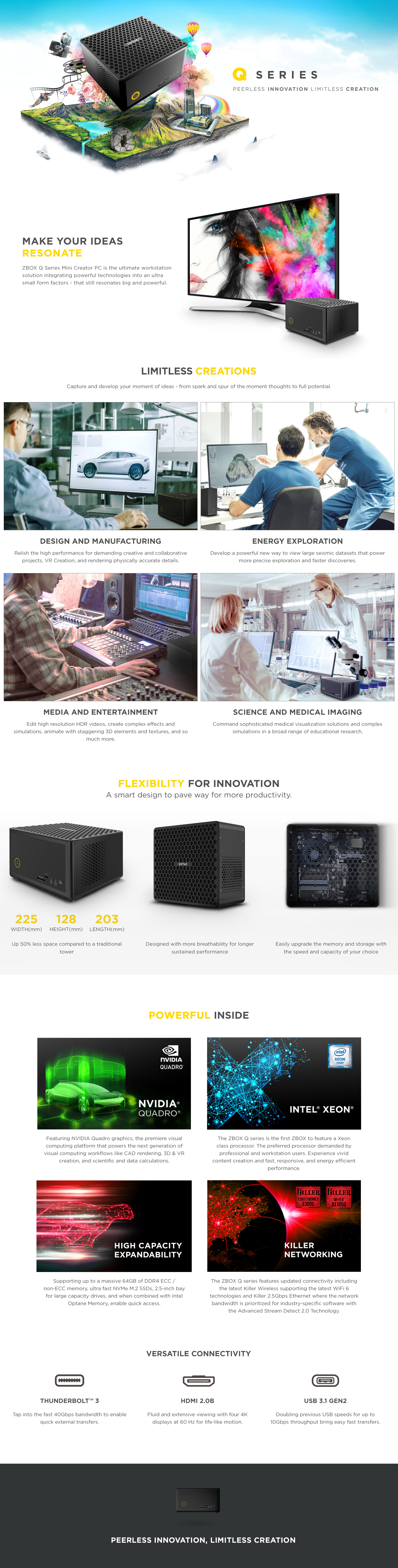 ZBOX QX3P5000 (Barebone) | ZOTAC