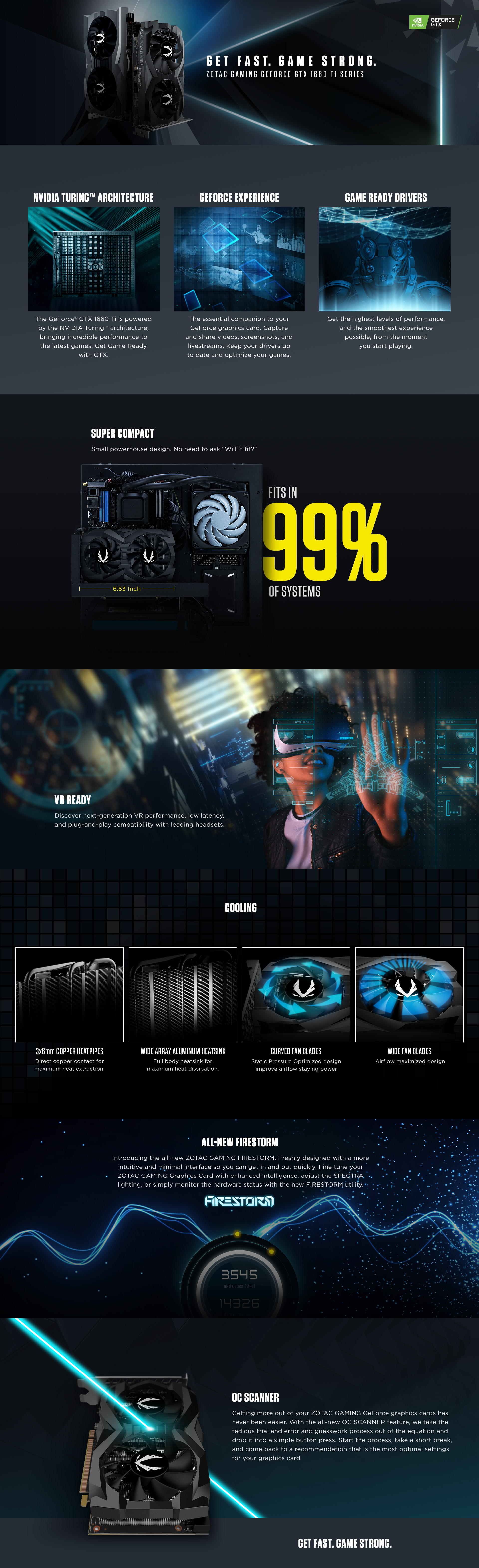 ZOTAC GAMING GeForce GTX 1660 Ti 6GB GDDR6 | ZOTAC