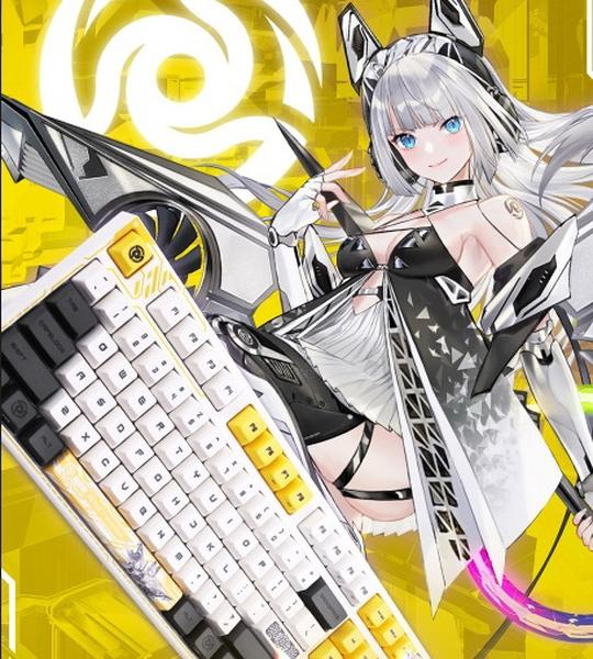 索泰x阿米洛联名定制天启姬机械键盘