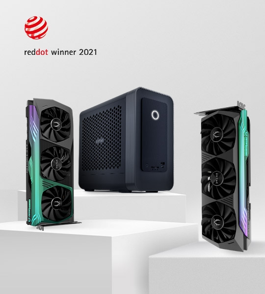 ZOTAC WINS THREE RED DOT AWARDS 2021