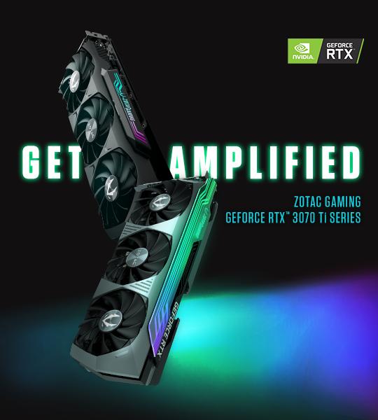 ZOTAC GAMING GeForce RTX 3070 Ti Series