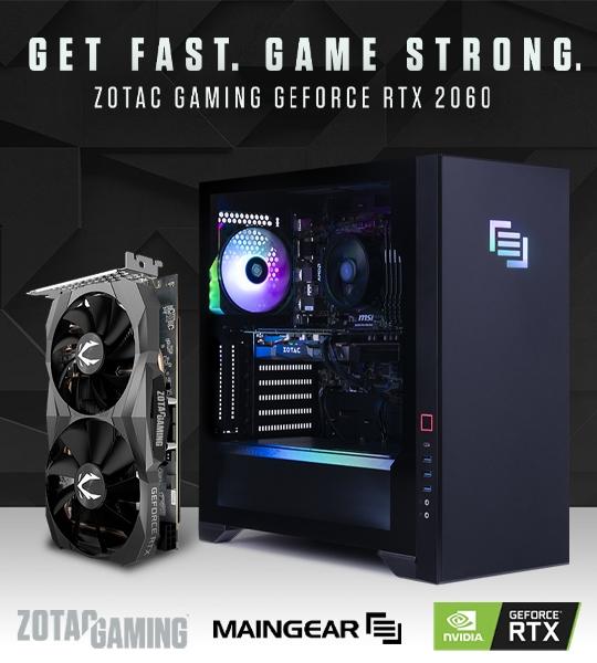 Maingear Minecraft RTX Ready GeForce PC