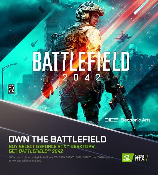 Buy GeForce RTX Desktops, Get Battlefield 2042