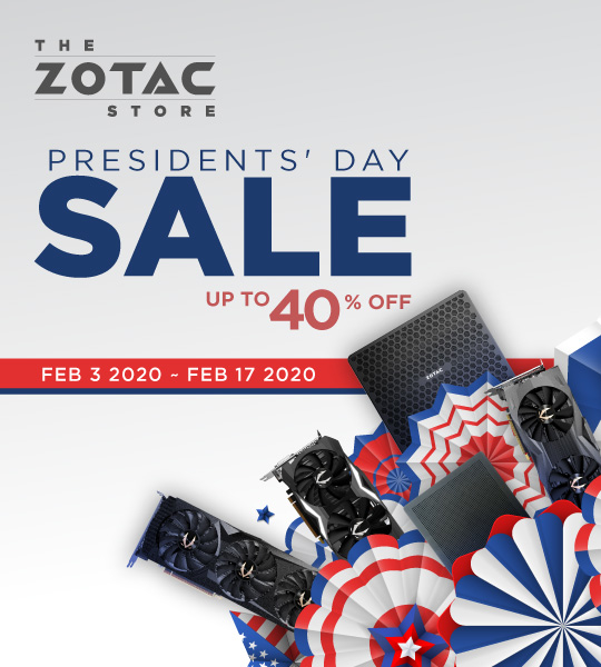 The Presidents' Day Sale
