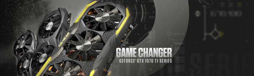 ZOTAC Adds Another Game Changer with GeForce® GTX 1070 Ti Series