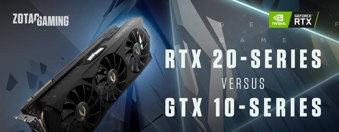 Сравниваем серии RTX 20 и GTX 10