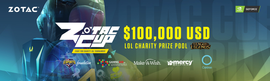 TOP STREAMERS CONVERGING AT THE GRAND FINALS OPENING OF THE FIRST ZOTAC CUP CHARITY TOURNAMENT FEATURING $100,000 USD PRIZE POOL