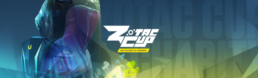 ZOTAC CUP KICKS OFF A $100K LOL CHARITY TOURNAMENT WITH GLOBAL ONLINE QUALIFIERS OPEN TO ALL