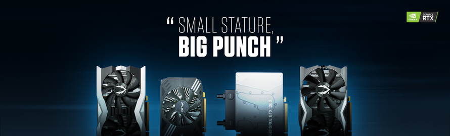 MINI Graphics Card - SMALL STATURE, BIG PUNCH