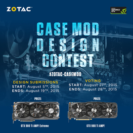 Case Mod Design Contest - GeForce ® GTX 980 Ti Giveaway