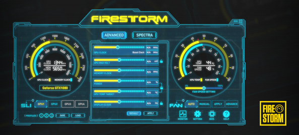 New and improved FireStorm Utility
