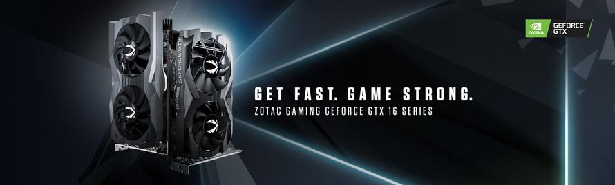 A ZOTAC GAMING amplia a linha GeForce® GTX 16 Series com as placas gráficas 1660