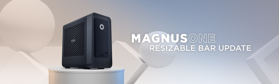MAGNUS ONE 更新支援 Resizable BAR 功能