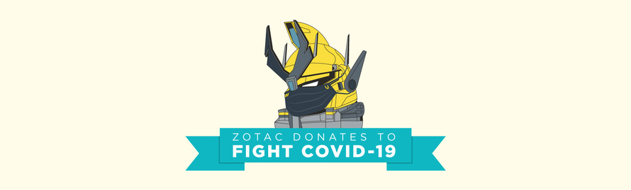 ZOTAC USA Helps to Fight COVID-19