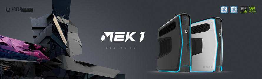 The Rise of ZOTAC GAMING and the All-New Ultra-Slim Desktop, MEK1 GAMING PC