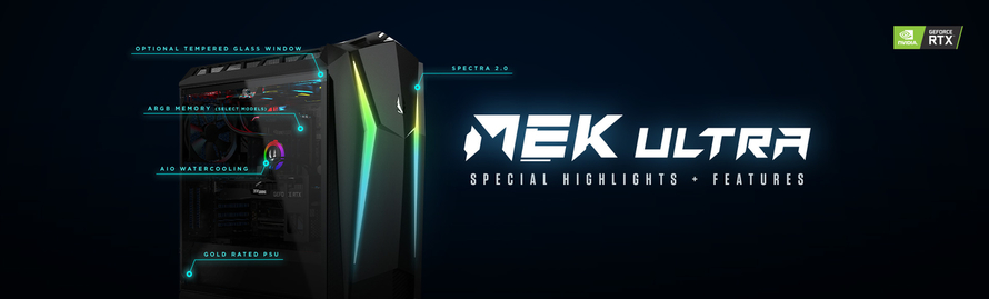 Spezielle Features und Highlights des MEK Ultra