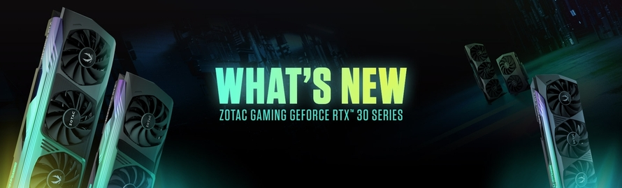 What's New On The ZOTAC GAMING GeForce RTX 30 Series?