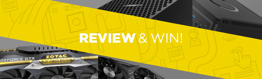 Win a graphics card for your GeForce® GTX 1080 Ti or MAGNUS EN10K review!