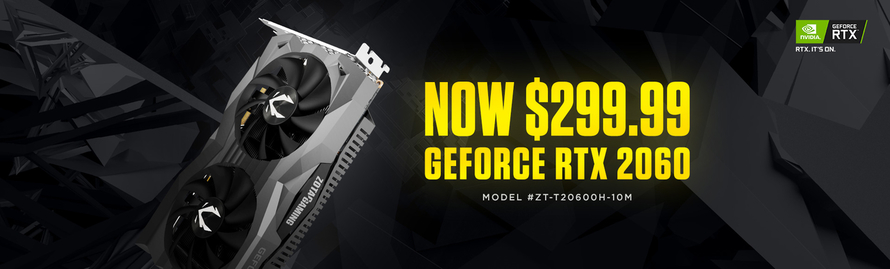 Upgrade For Only $299.99 to Experience The Stunning Visuals and Performance of GeForce RTX 20-Series