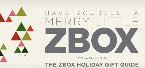 The ZBOX Holiday Gift Guide