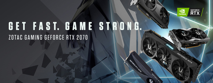 ZOTAC GAMING INTRODUCES GeForce RTX 2070 SERIES