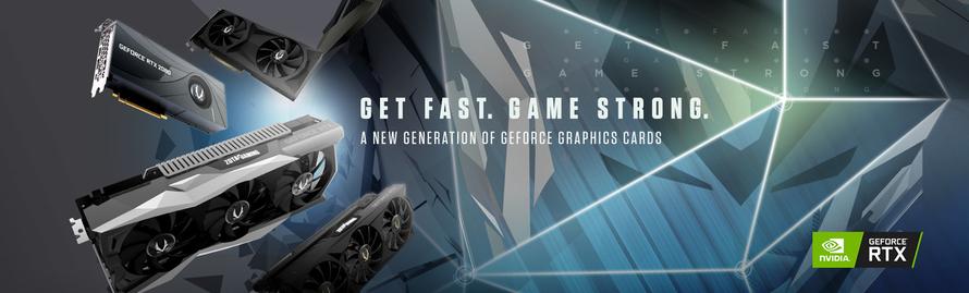 ZOTAC GAMING GeForce® RTX 20シリーズグラフィックスカードを使用した次世代ゲーム体験の到来