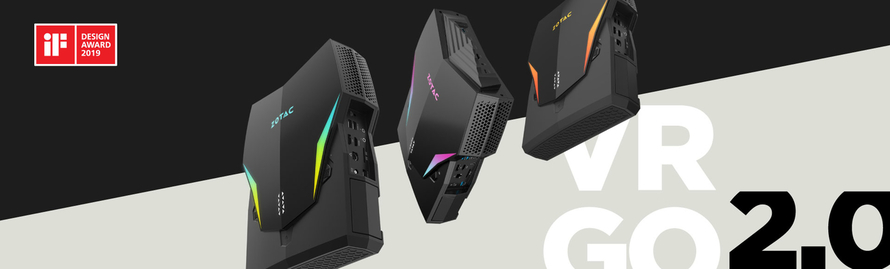ZOTAC VR GO 2.0 WON IF DESIGN AWARD 2019