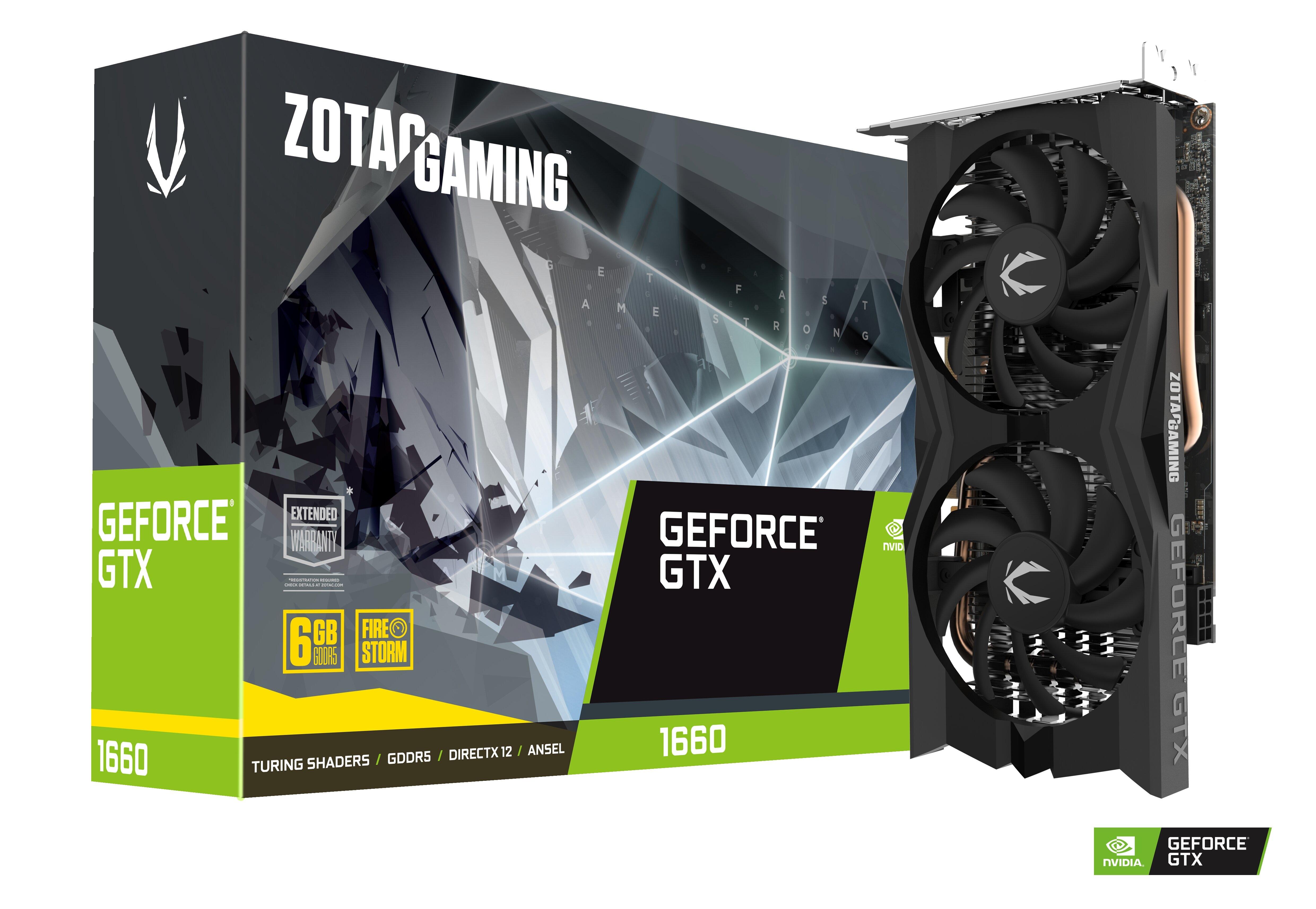 Zotac Gaming Geforce Gtx 1660 Twin Fan Zotac