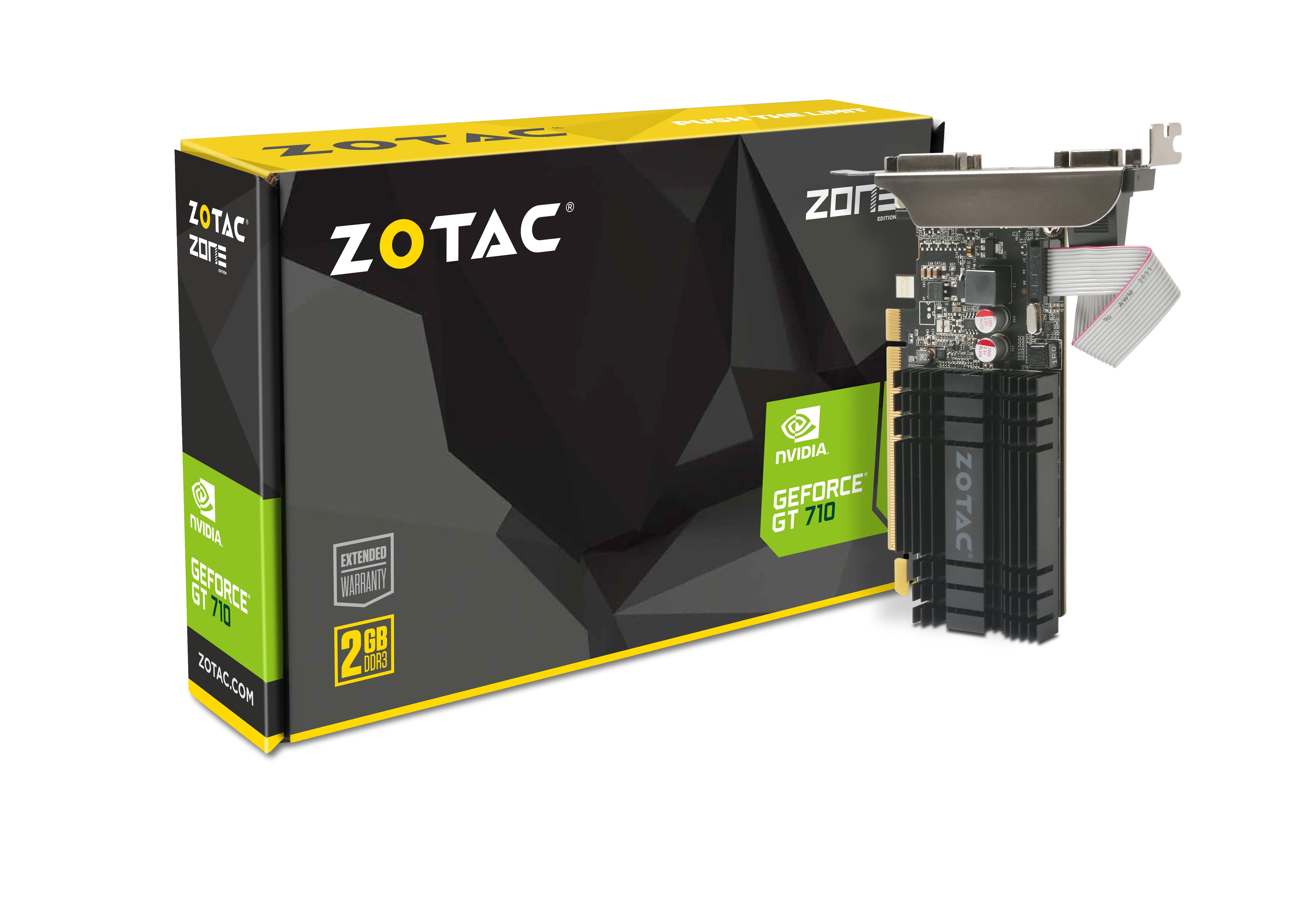 GeForce® GT 710 2GB | ZOTAC