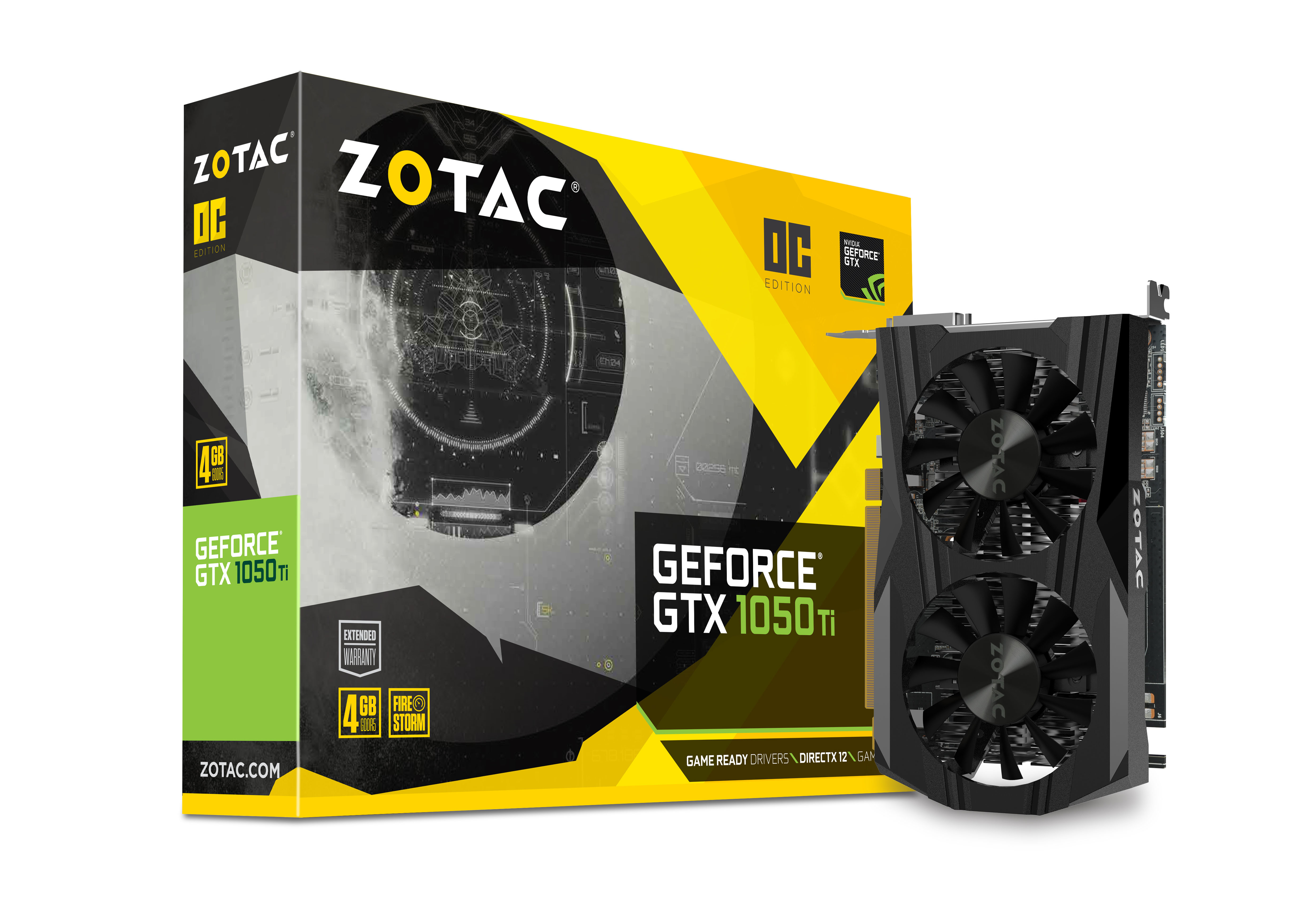 Zotac Geforce Gtx 1050 Ti Oc Edition Download The Completepackage Including Schematicfirmware Software