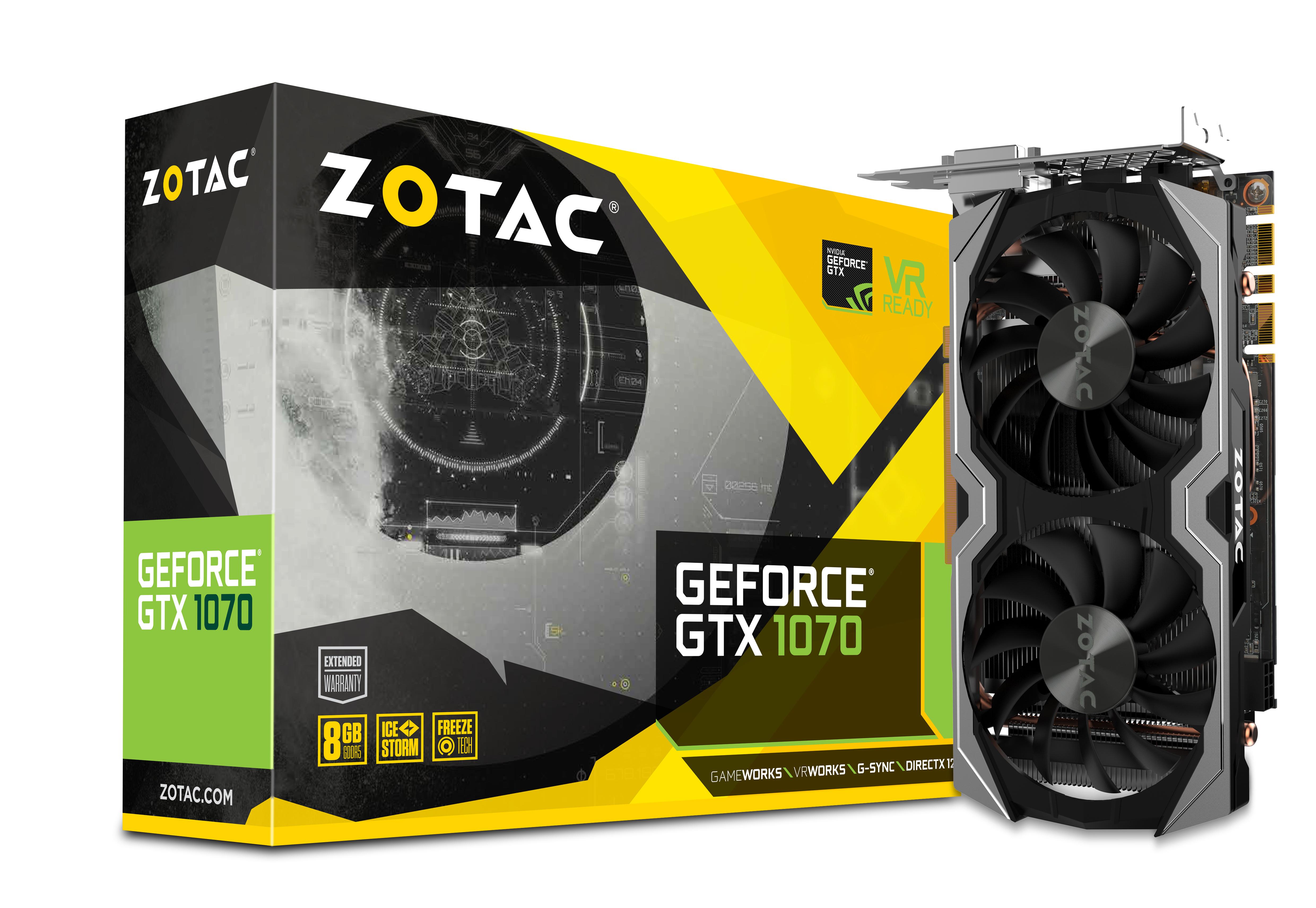 ZOTAC GeForce® GTX 1070 Mini   ZOTAC