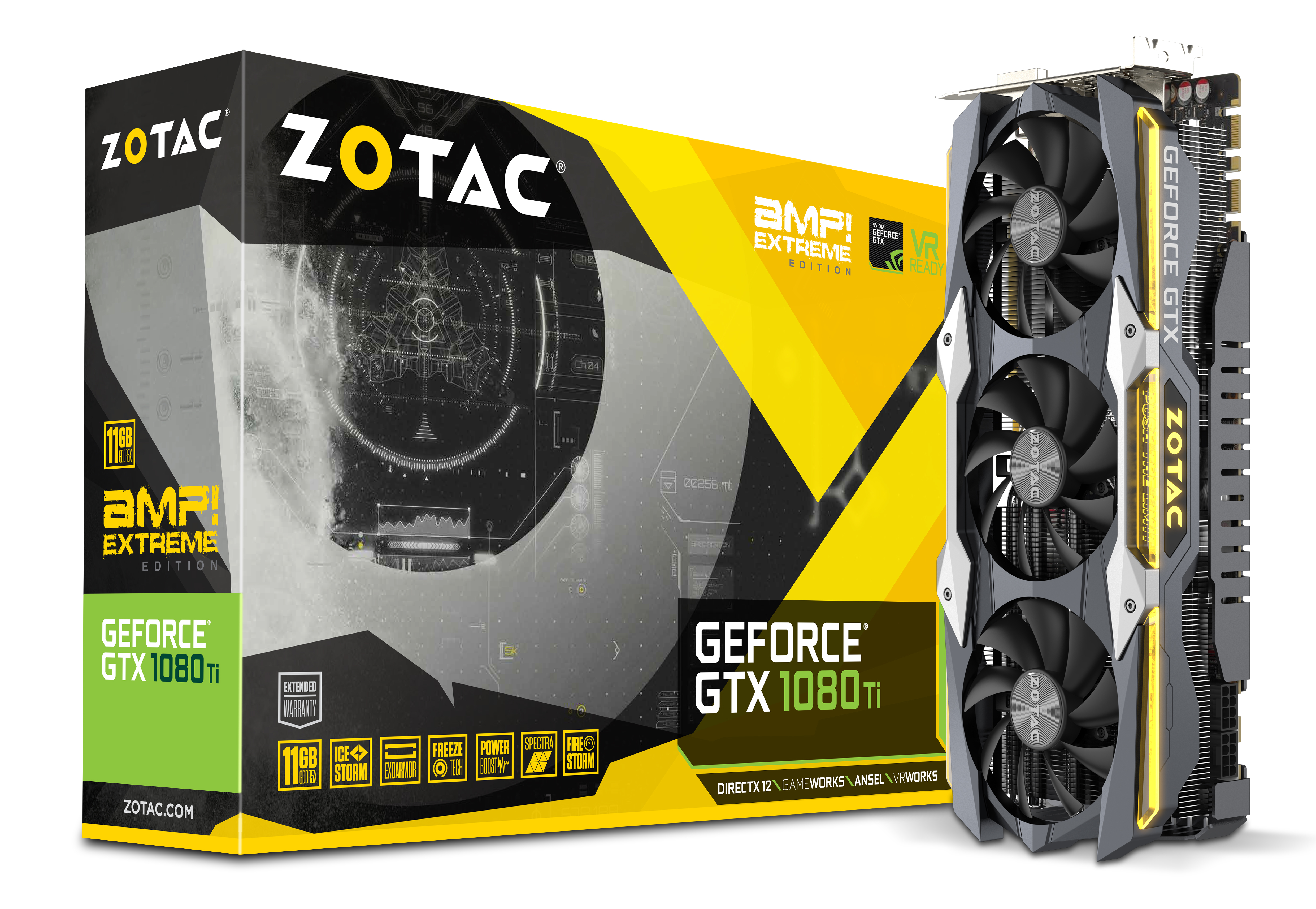 ZOTAC GeForce® GTX 1080 Ti AMP Extreme   ZOTAC