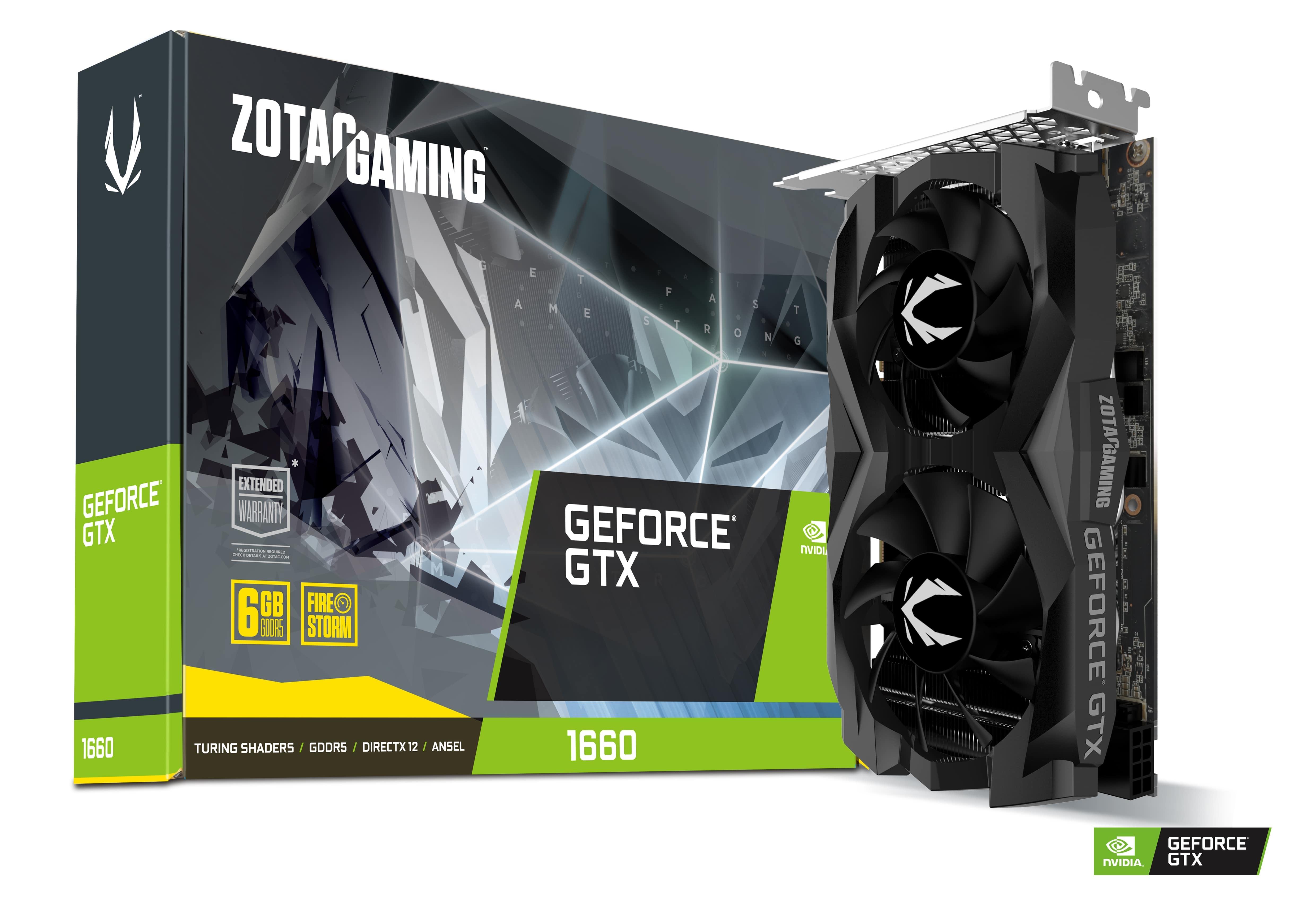ZOTAC GAMING GeForce GTX 1660 6GB GDDR5 | ZOTAC