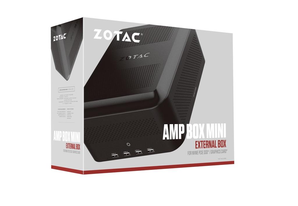 AMP BOX Mini (230 W mit 6-poligem Stecker)