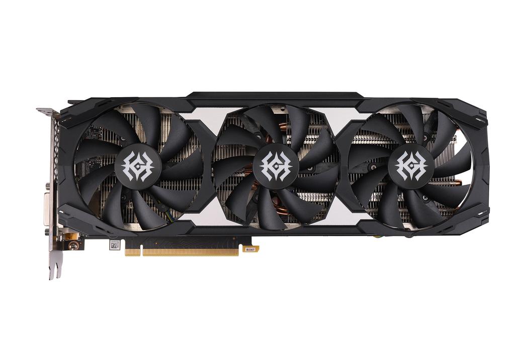索泰 GeForce® GTX1660Ti-6GD6 X-GAMING