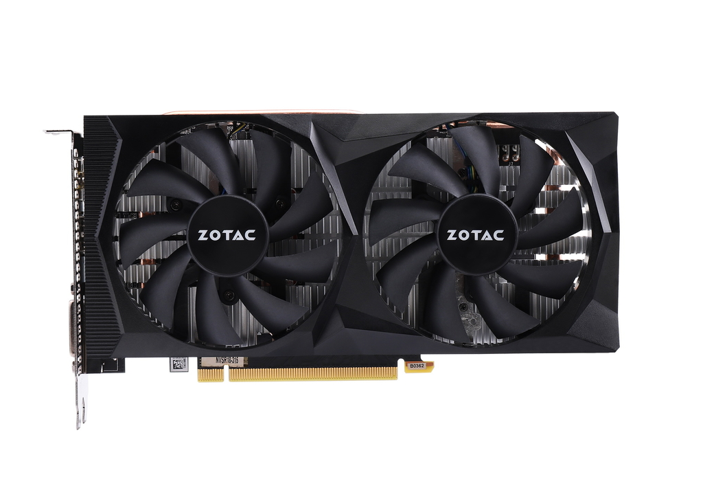 索泰 GeForce® GTX1660Ti-6GD6 毁灭者 OC HA