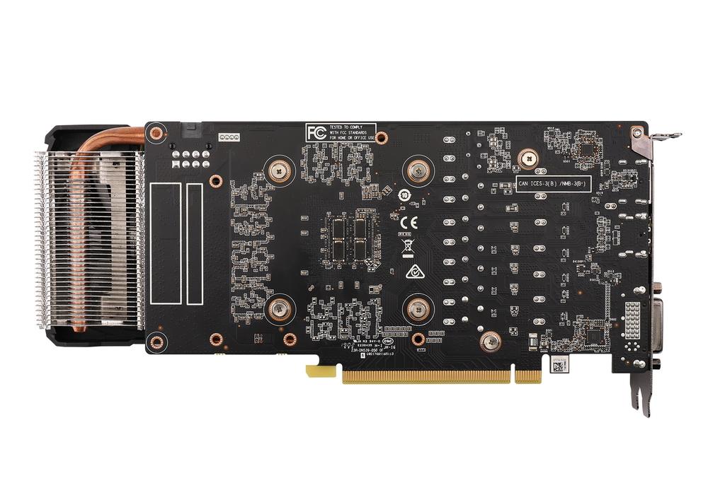 索泰 GeForce® RTX2060-6GD6 霹雳版 OC HA