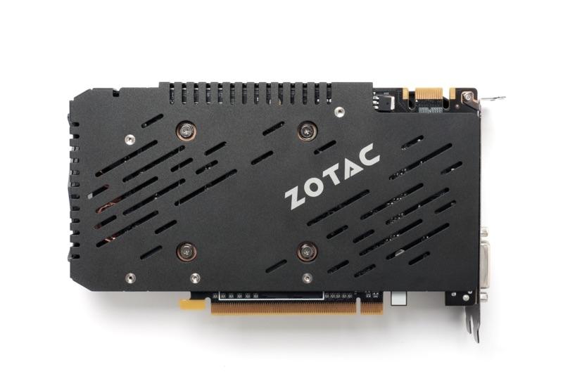 Zotac geforce gtx 960 amp edition.