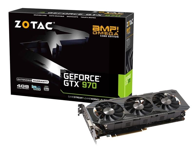 Geforce® gtx 970 amp! Omega core   zotac.