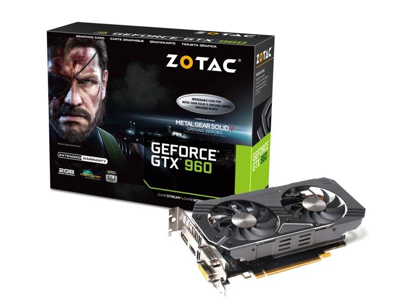 GeForce® GTX 960 2GB | ZOTAC