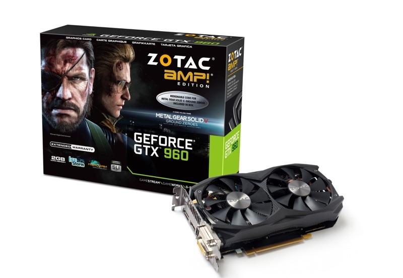 GeForce® GTX 960 AMP! 2GB | ZOTAC