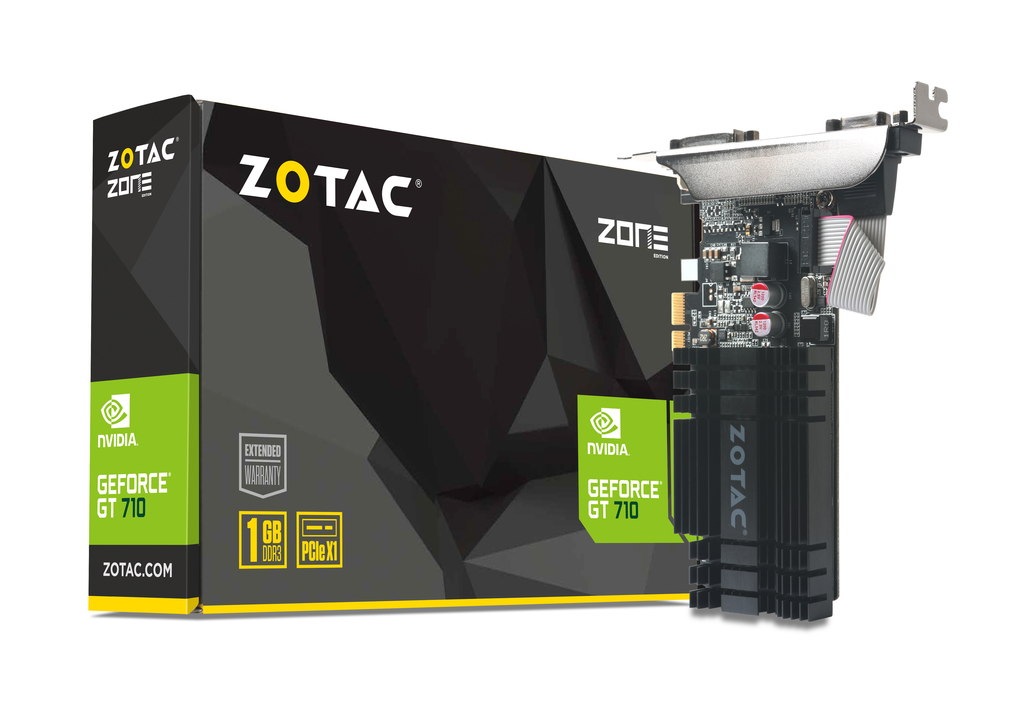 GeForce® GT 710 1GB PCIE x 1