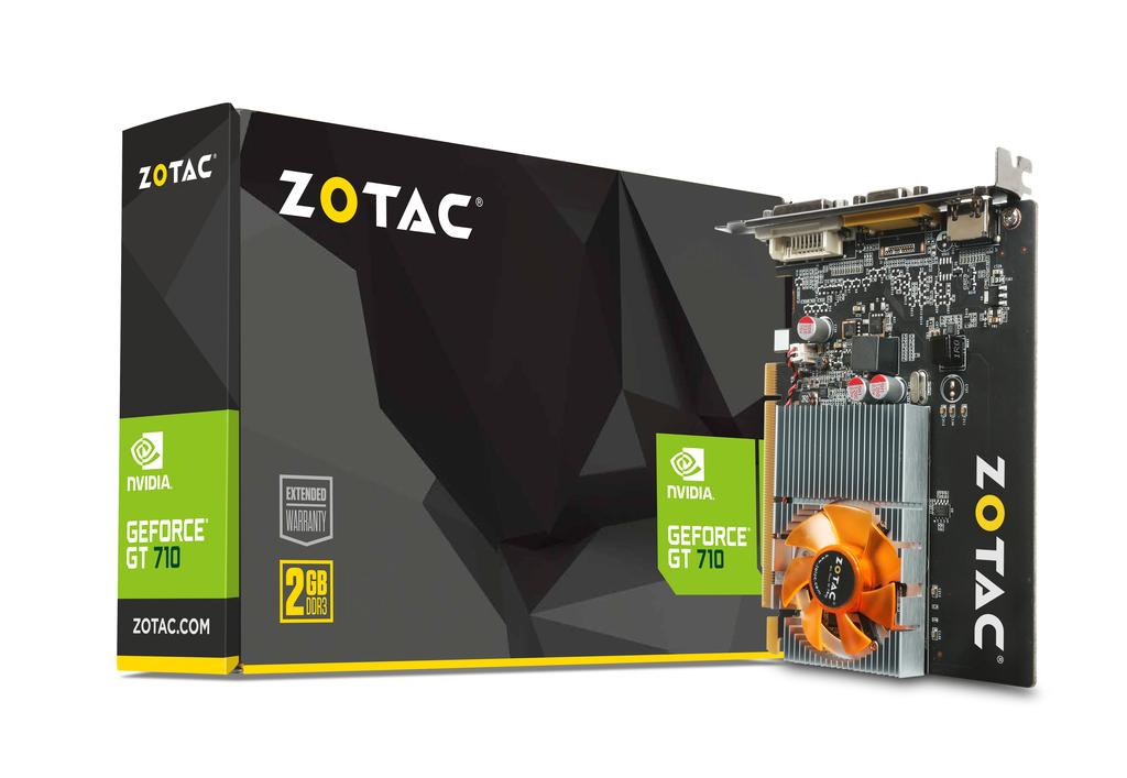 GeForce® GT 710 2GB DDR3